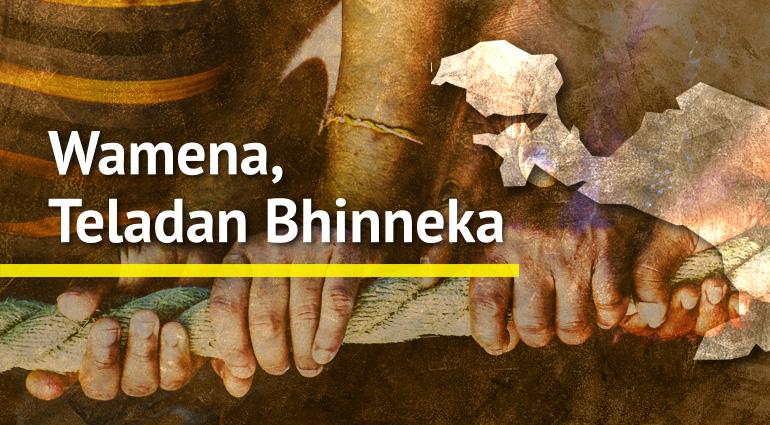 Wamena, Teladan Bhinneka